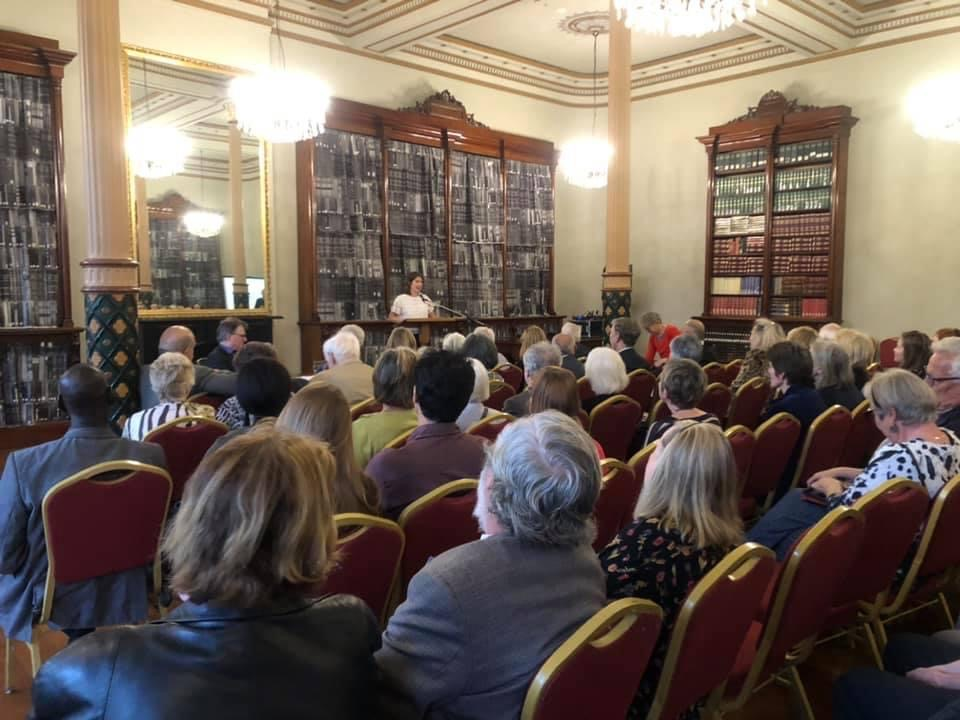 Celebrating the FRA's 50th Year in the Fitzroy Town Hall Library October 2019